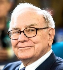 Roll up Roll up Warren Buffett never had an edge