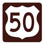 Highway 50 Gold logo