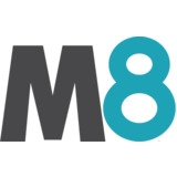 M8 Sustainable logo