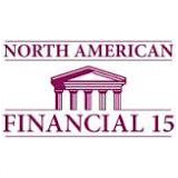 North American Financial 15 Split logo