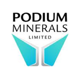 Podium Minerals logo
