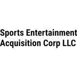 Sports Entertainment Acquisition. logo