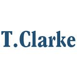 T Clarke logo